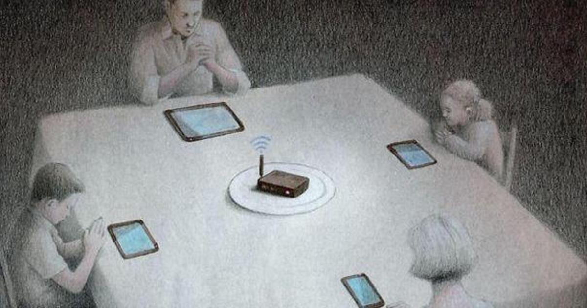 Проблемы современного общества в иллюстрациях.