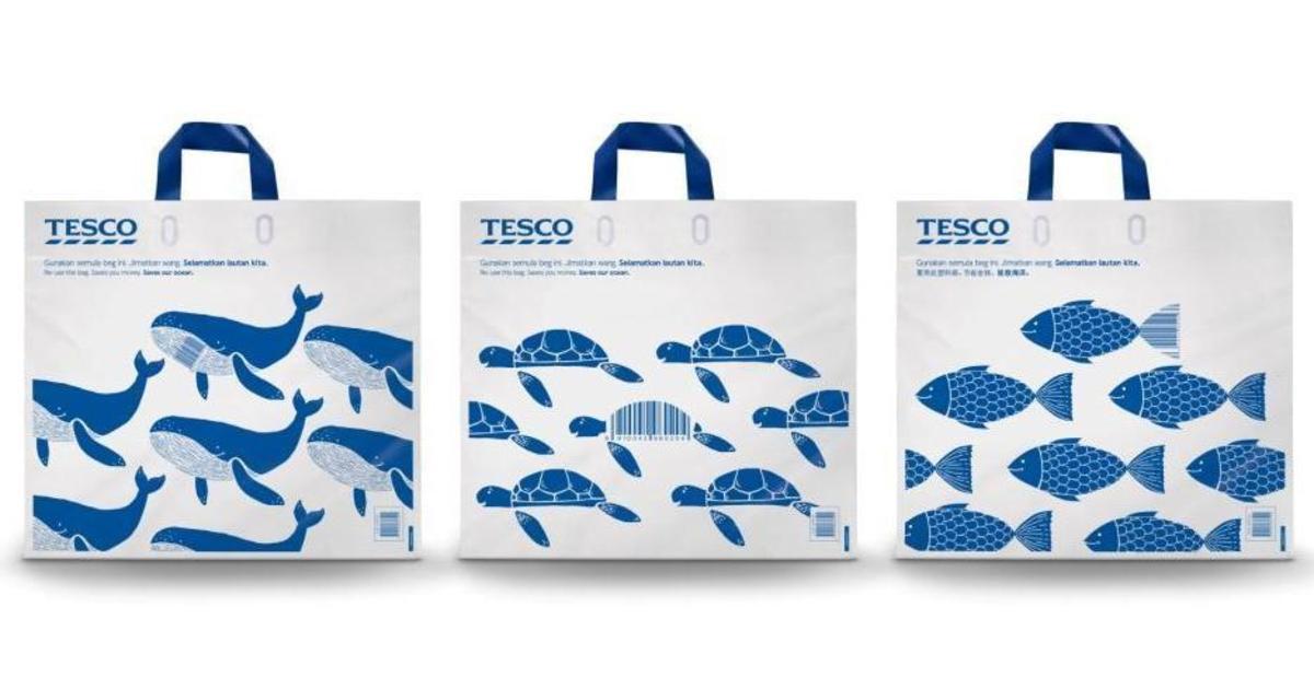 Tesco превратила пакеты в скидки ради сохранения окружающей среды.