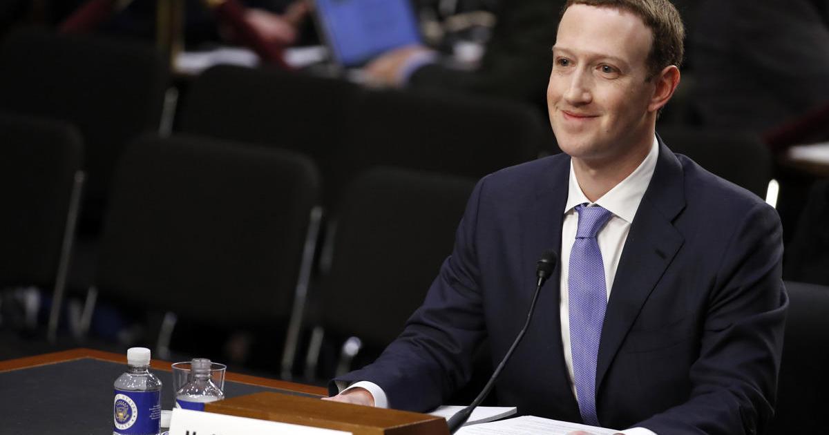 Ключевые моменты выступления Цукерберга перед Сенатом.