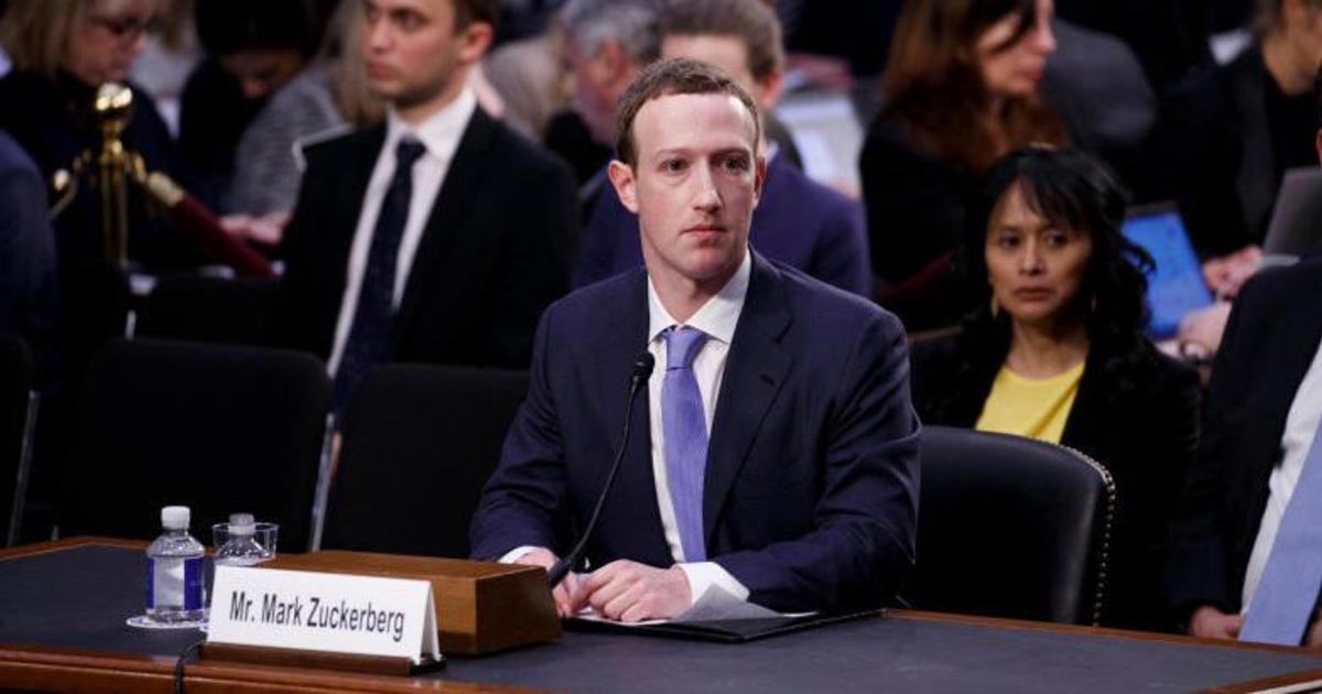 Цукерберг рассказал Конгрессу об утечке собственных данных через Facebook.