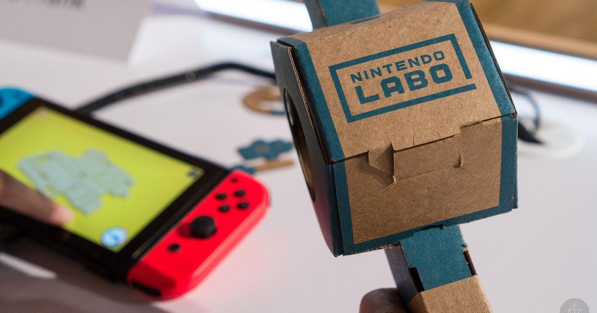 Дети стали DIY-креаторами в ролике для Nintendo Labo.