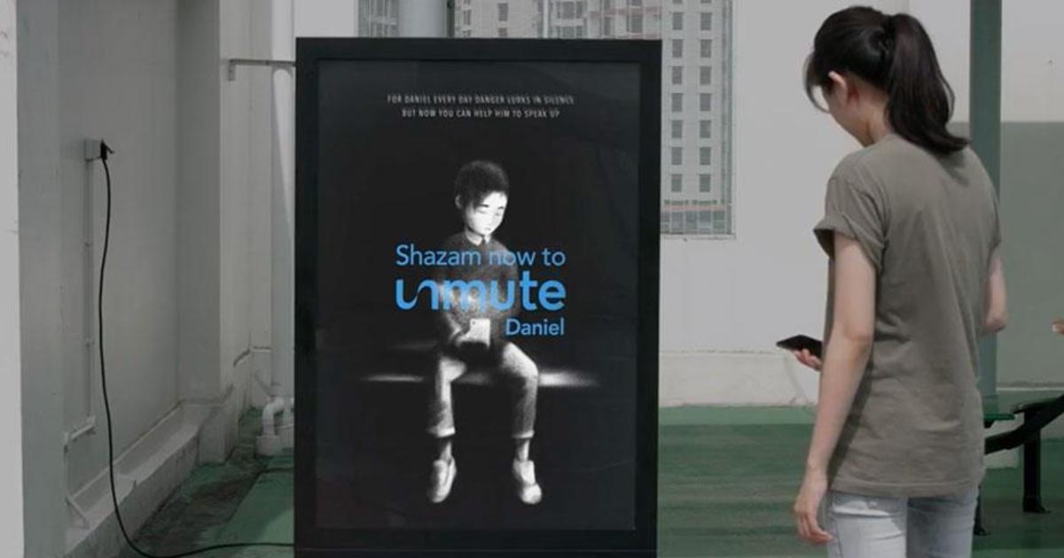 Shazam выступил против кибербуллинга в Сингапуре с digital-кампанией.