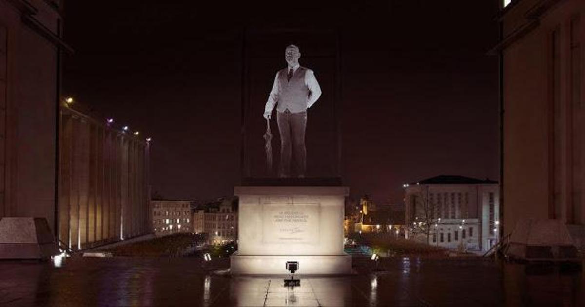 Живые статуи прорекламировали туризм в Брюсселе.