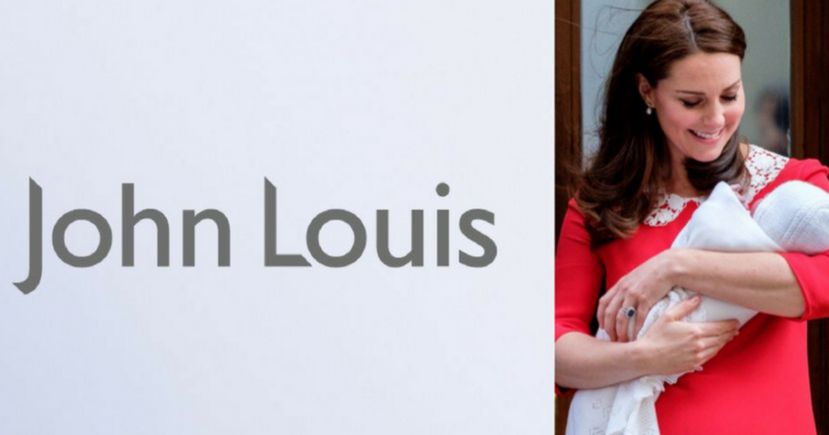 John Lewis переименовал себя в John Louis в честь новорожденного принца.