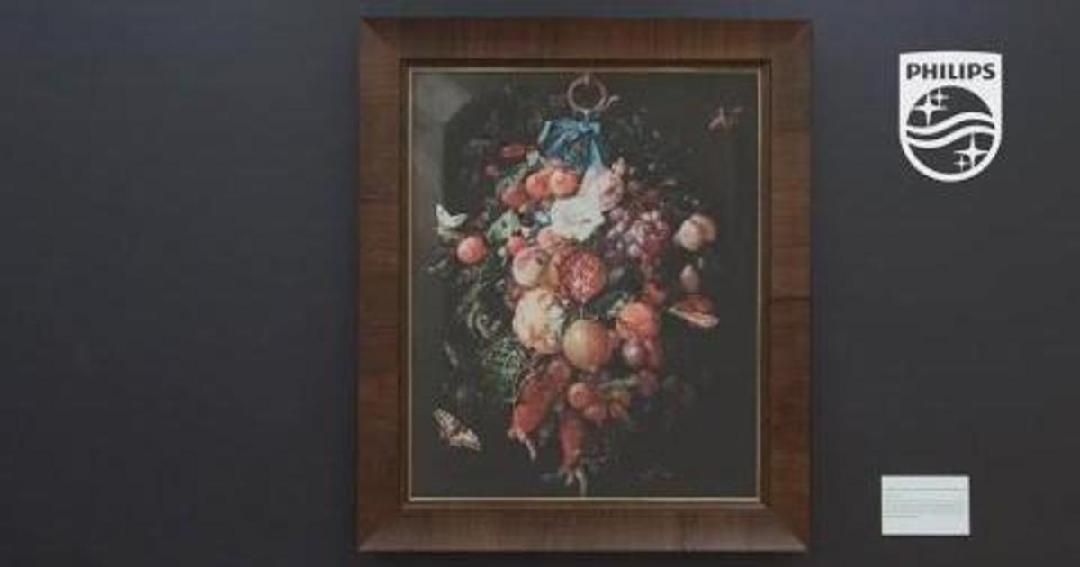 Philips сделал сок из фруктов на картине в рамках музейного пранка.