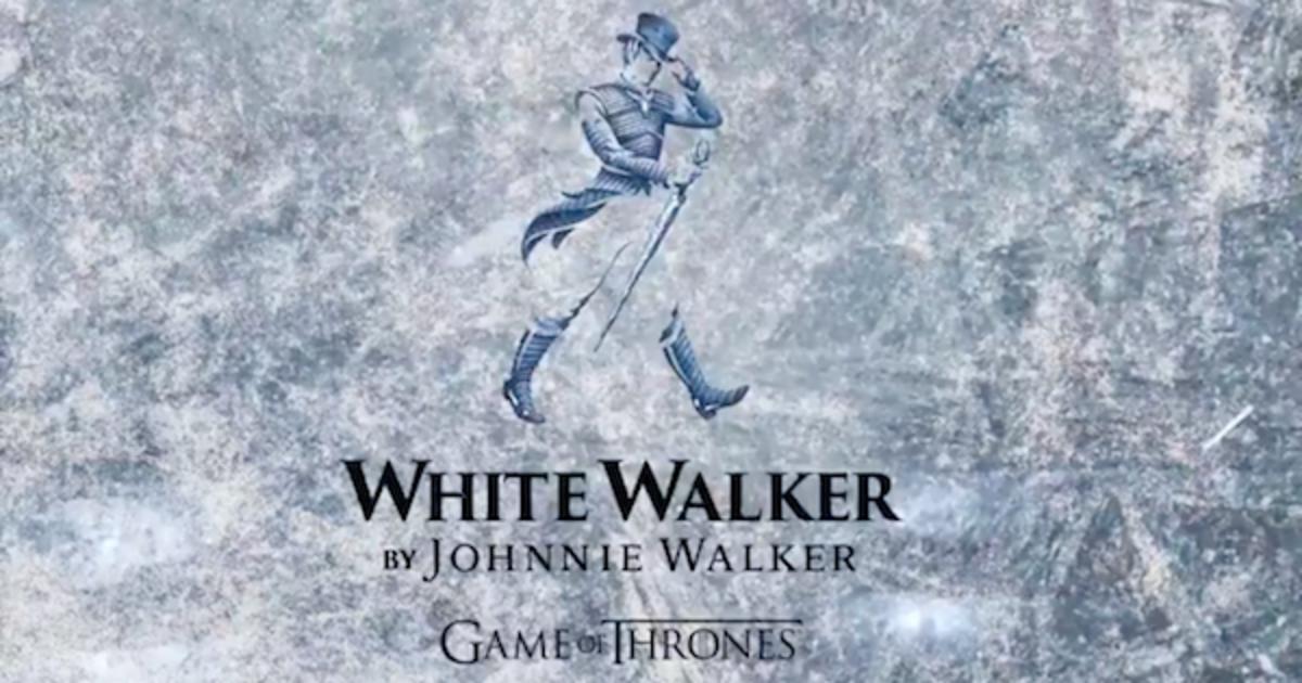 Johnnie Walker выпустит виски White Walker для «Игры престолов».