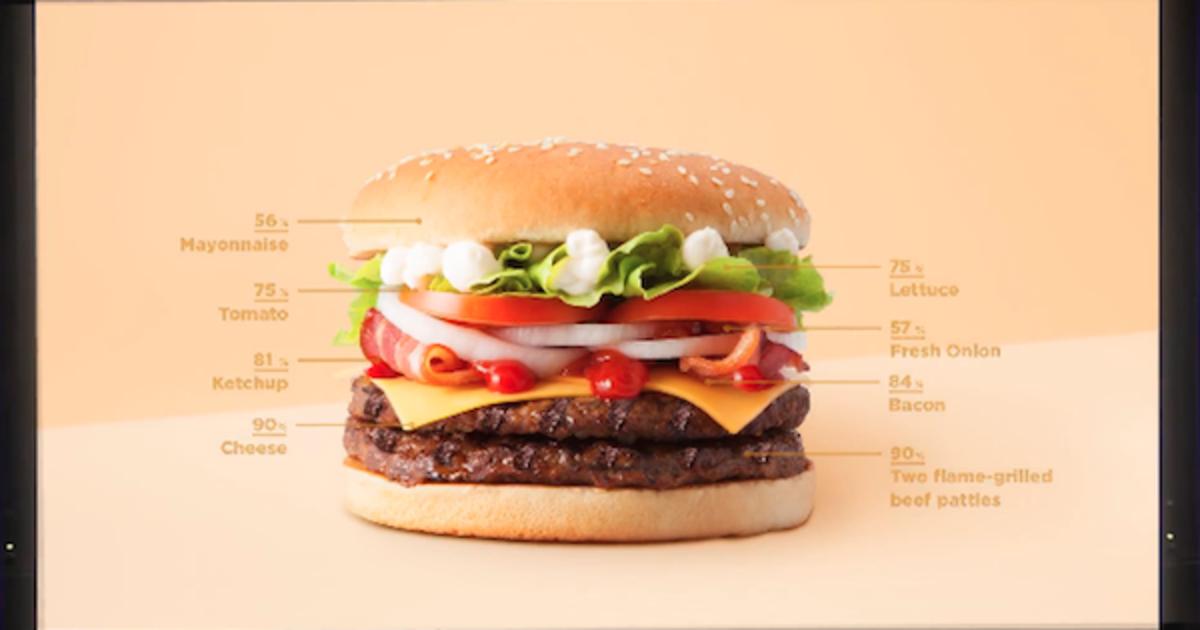 Burger King позволил персонализировать воппер с помощью Instagram Stories.
