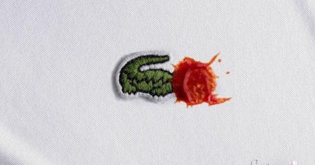 Логотипы брендов пали жертвой соуса в рекламе Persil.