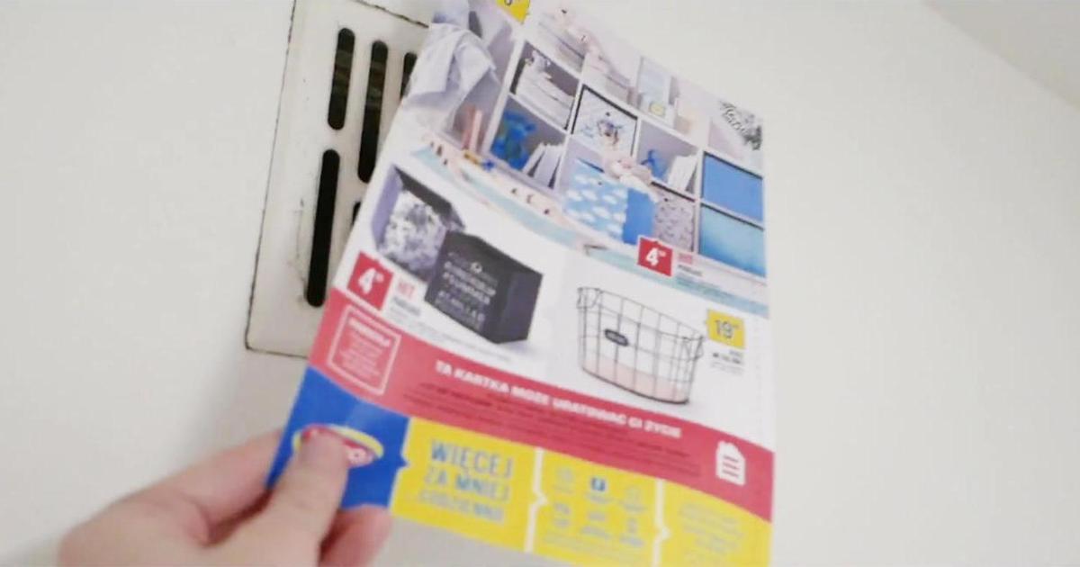В Польше выпустили самую простую печатную рекламу для спасения жизни.