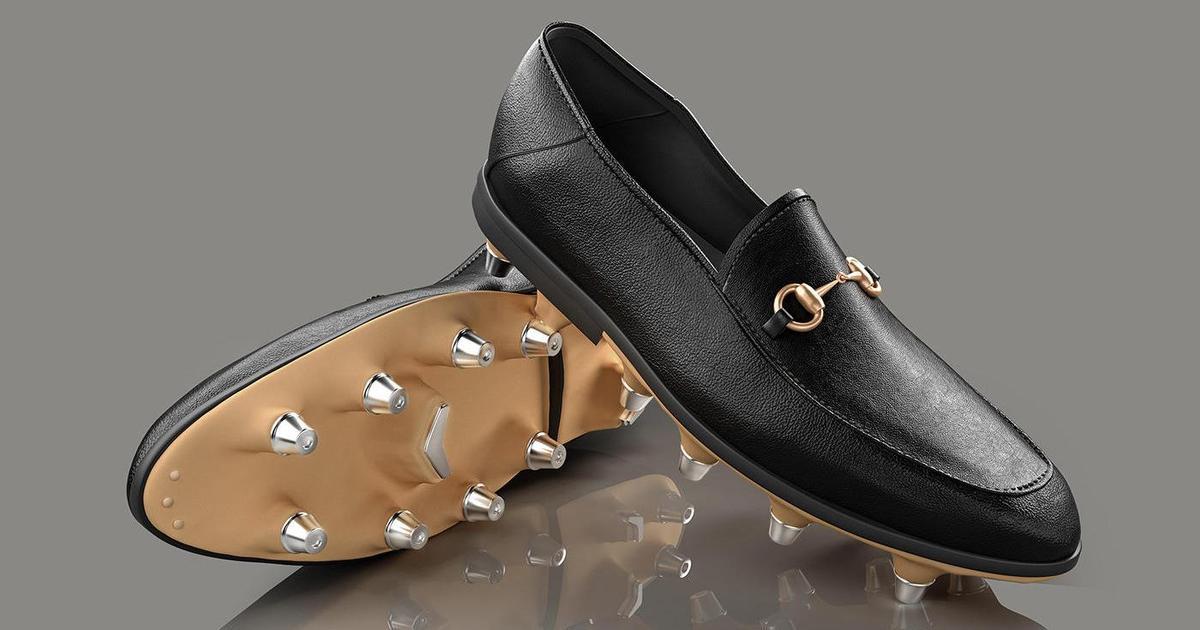 Helen Marlen предложила сыграть в футбол в Gucci.