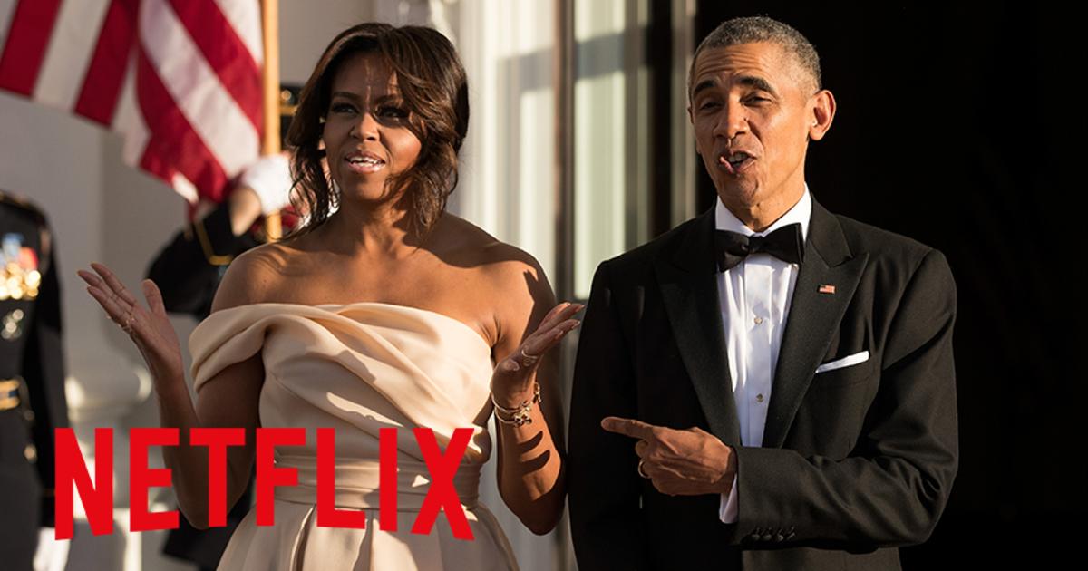 Мишель и Барак Обама будут создавать контент для Netflix.