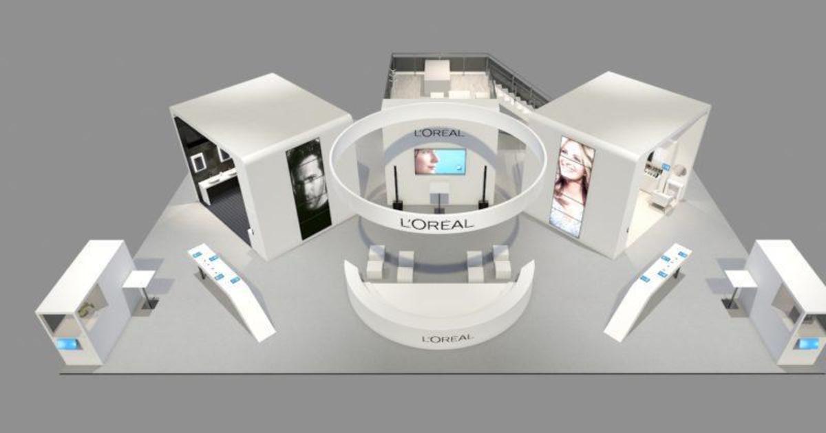 Умное зеркало и «дворецкий»: L'Oréal представит новинки на выставке.