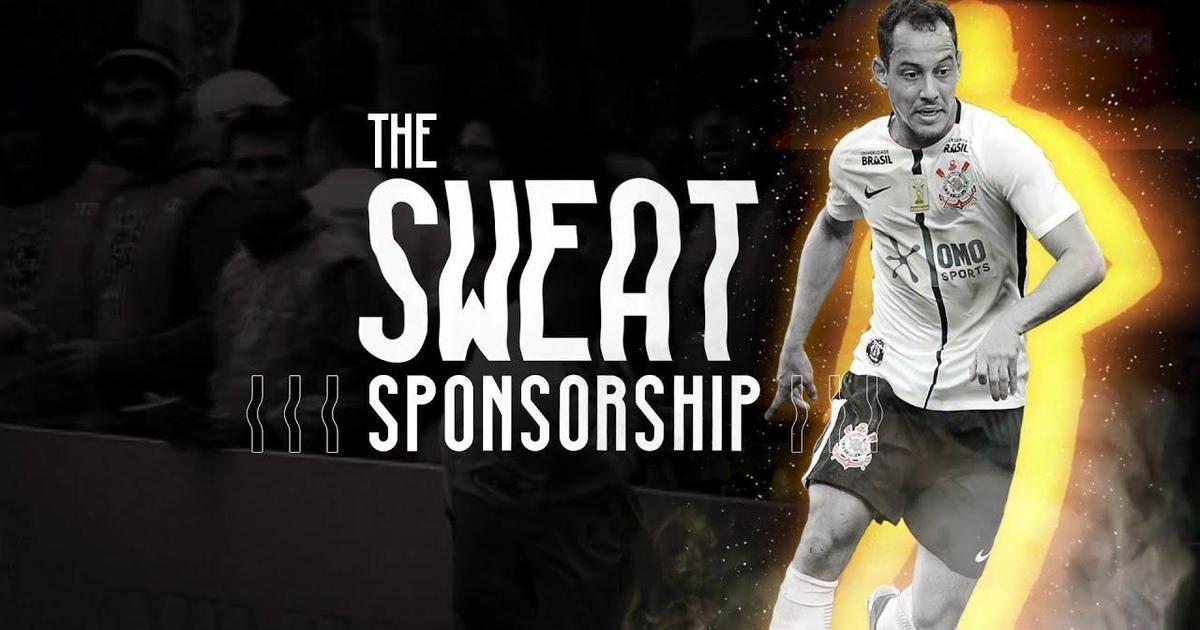 Пот активировал невидимое лого спонсора на футболках игроков.