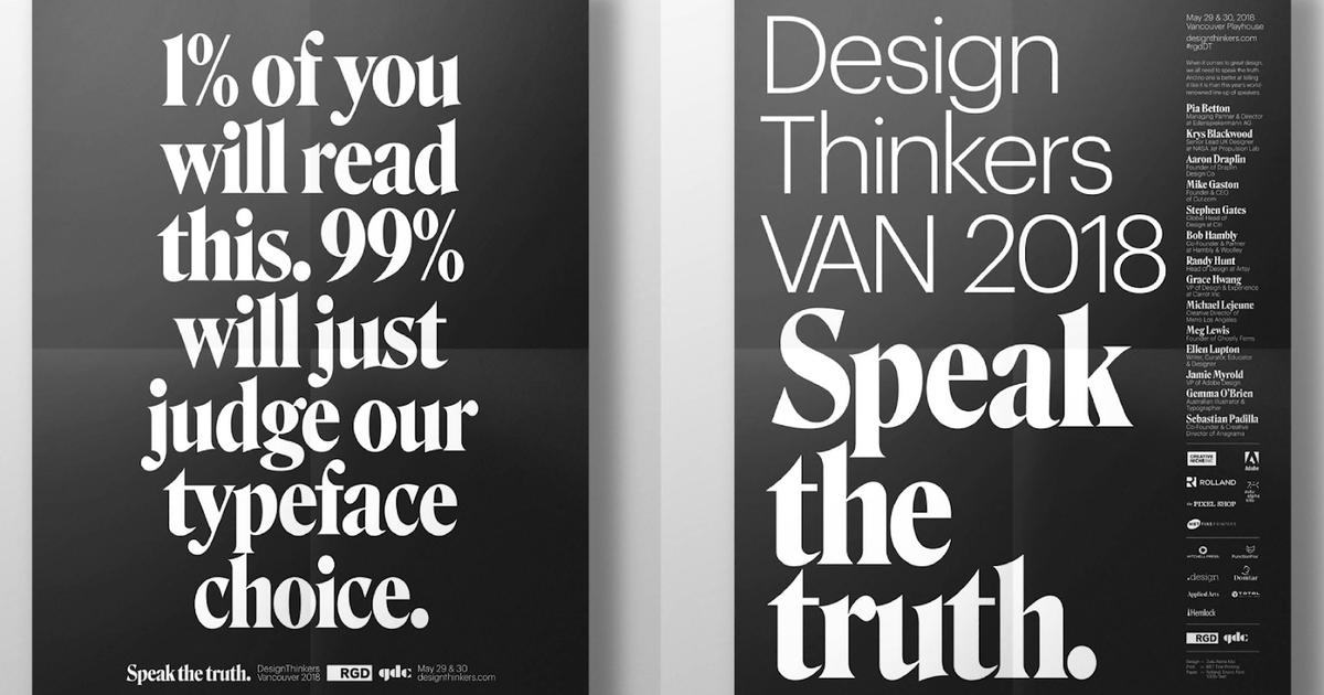 Дизайнеров проверили на детекторе лжи в кампании для конференции о дизайне.