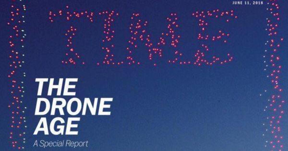 958 дронов приняли участие в создании обложки для журнала Time.