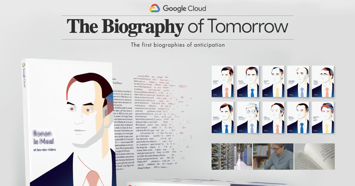Google написал «Биографии будущего» для топ-10 CEO Франции.