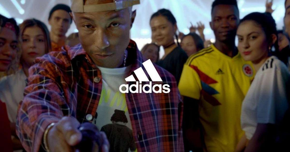 Adidas собрал 56 креаторов из мира спорта и культуры в ролике к ЧМ-2018.