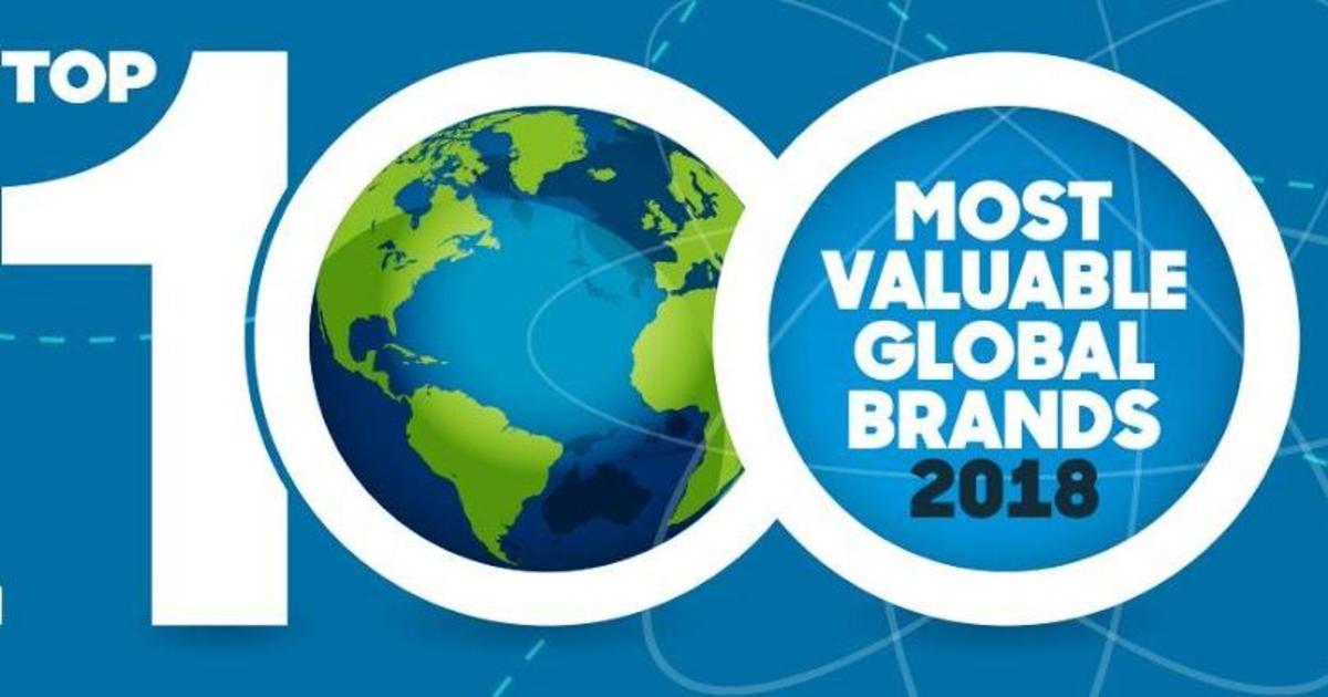 BrandZ назвал топ-100 самых дорогих глобальных брендов 2018.