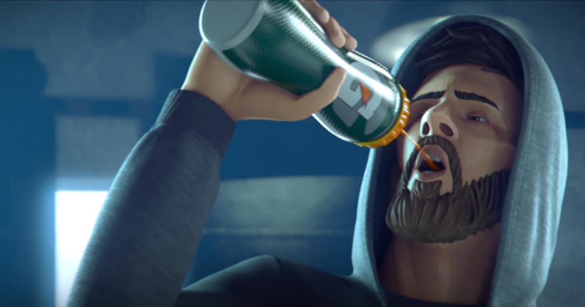Gatorade выпустил анимационный фильм о Месси.