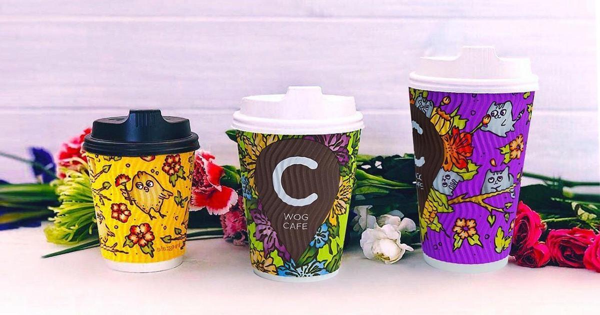 Дизайнерские стаканчики от Instagram блогера повысили продажи кофе WOG.