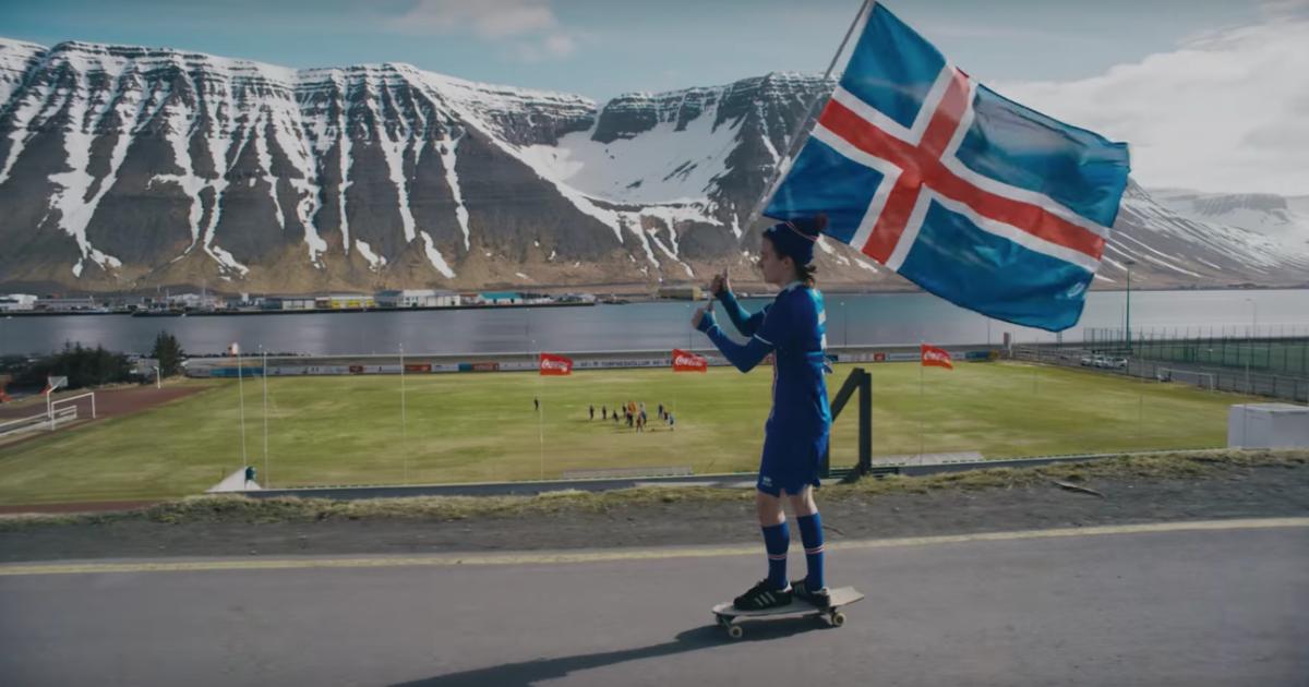 Вратарь сборной Исландии снял впечатляющий ролик для Coca-Cola к ЧМ-2018.