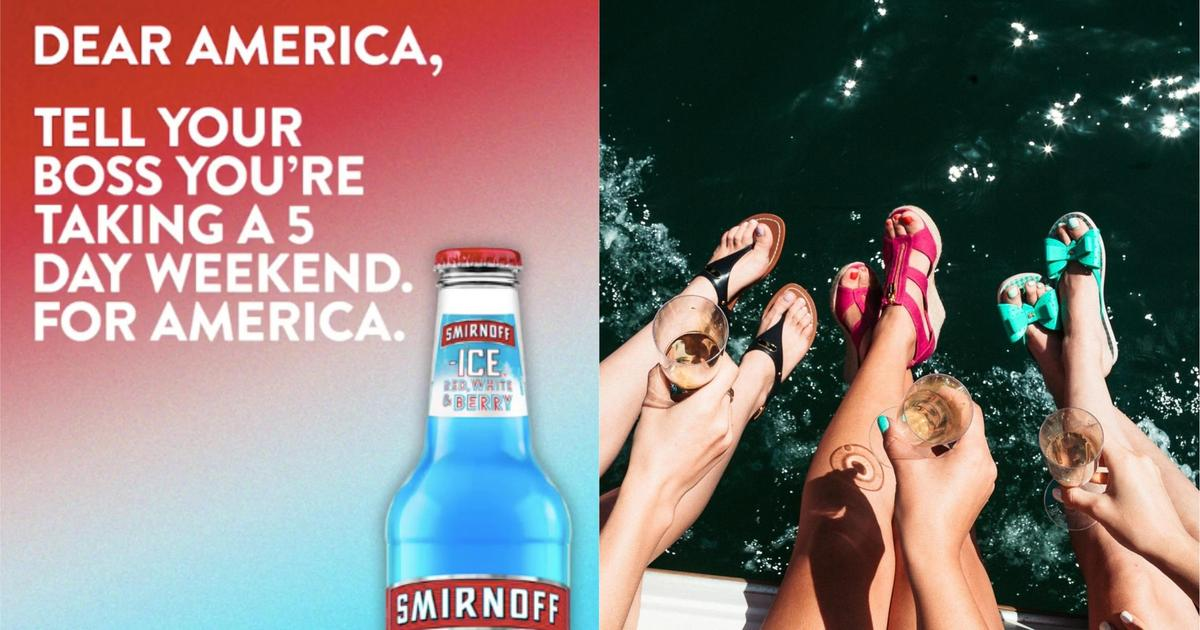 Smirnoff продлит американцам выходные на День независимости.