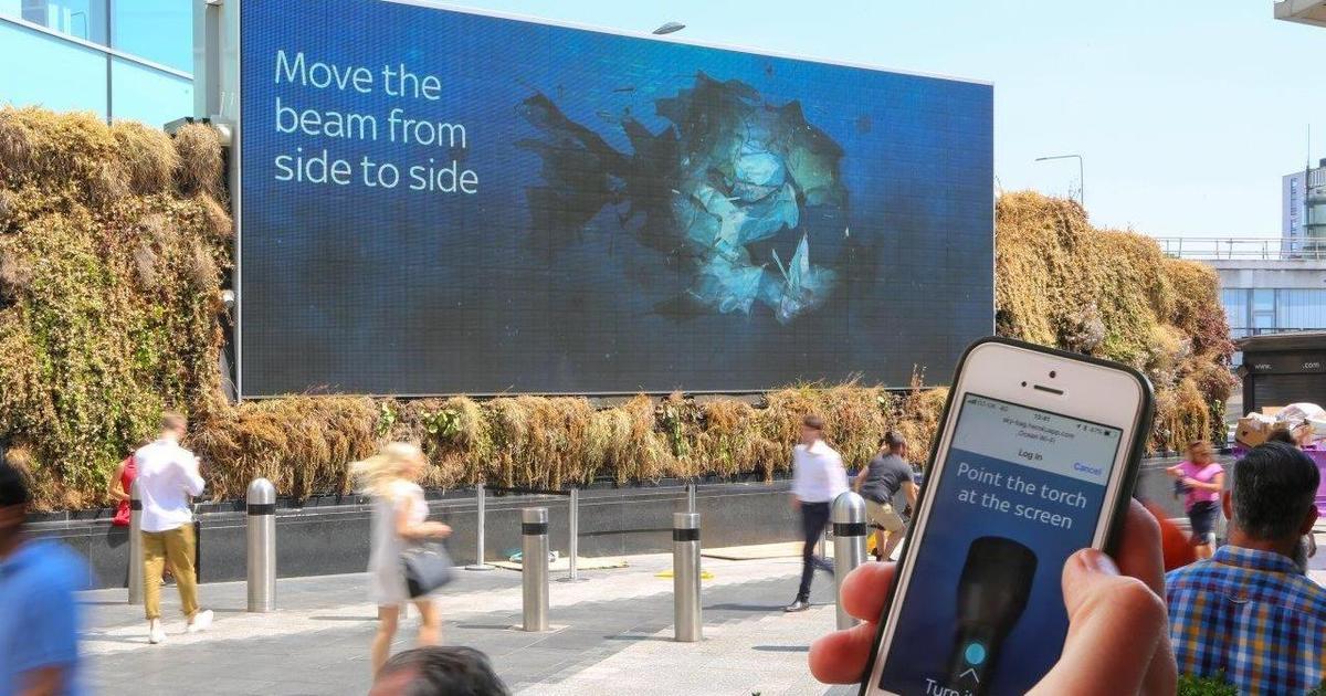 Digital Out Of Home кампания рассказала о главной угрозе для океанов.