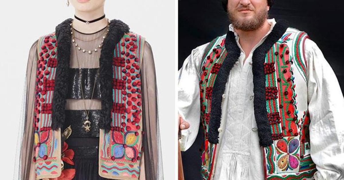 Румыны заметили, что Dior копирует их национальную одежду и дали отпор.
