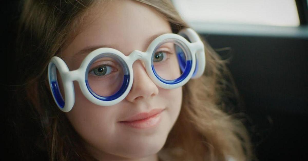 Citroën создал очки против укачивания в транспорте.