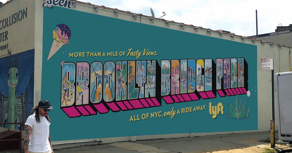 OOH-кампания Lyft поощряет жителей Нью-Йорка провести отпуск дома.