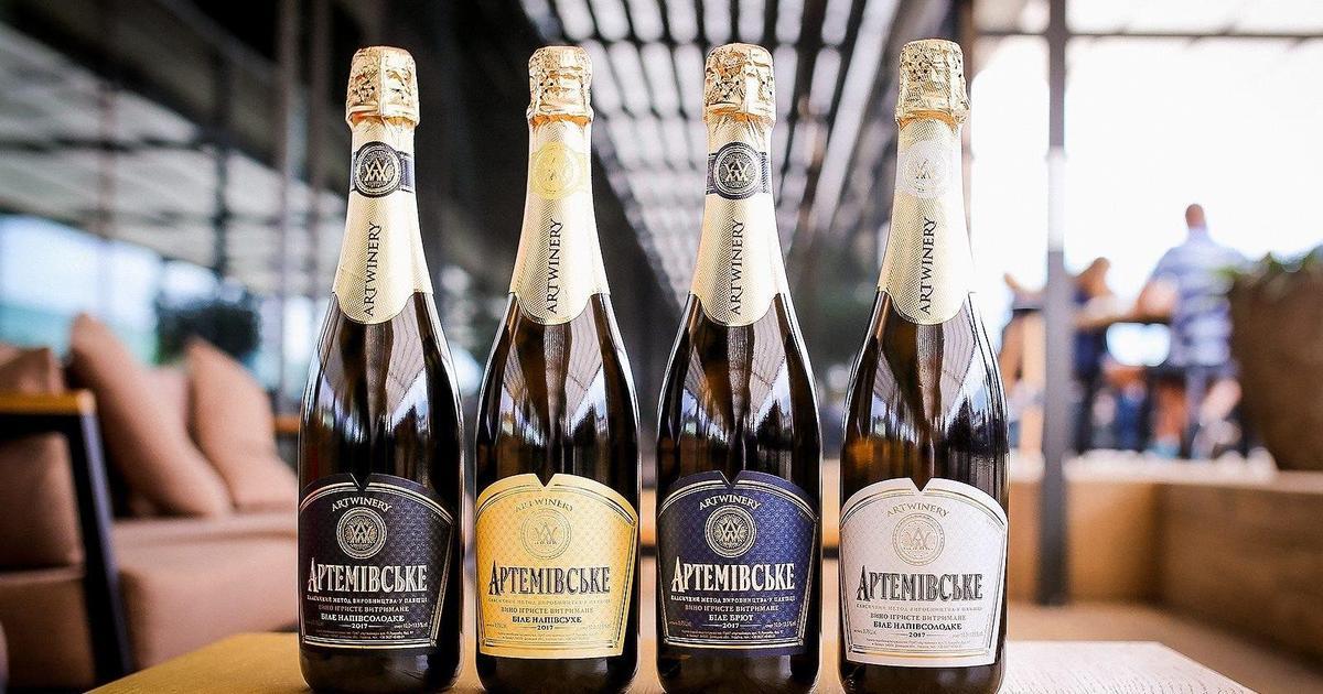 Производитель игристых вин обновил дизайн бутылок ТМ «Артемовское».