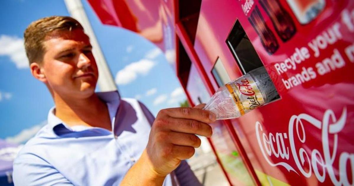 Coca-Cola будет вознаграждать британцев за отданный на переработку пластик.