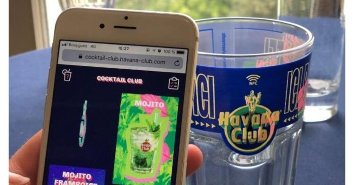 Pernod Ricard запустил умные стаканы, чтобы собрать данные о пользователях.