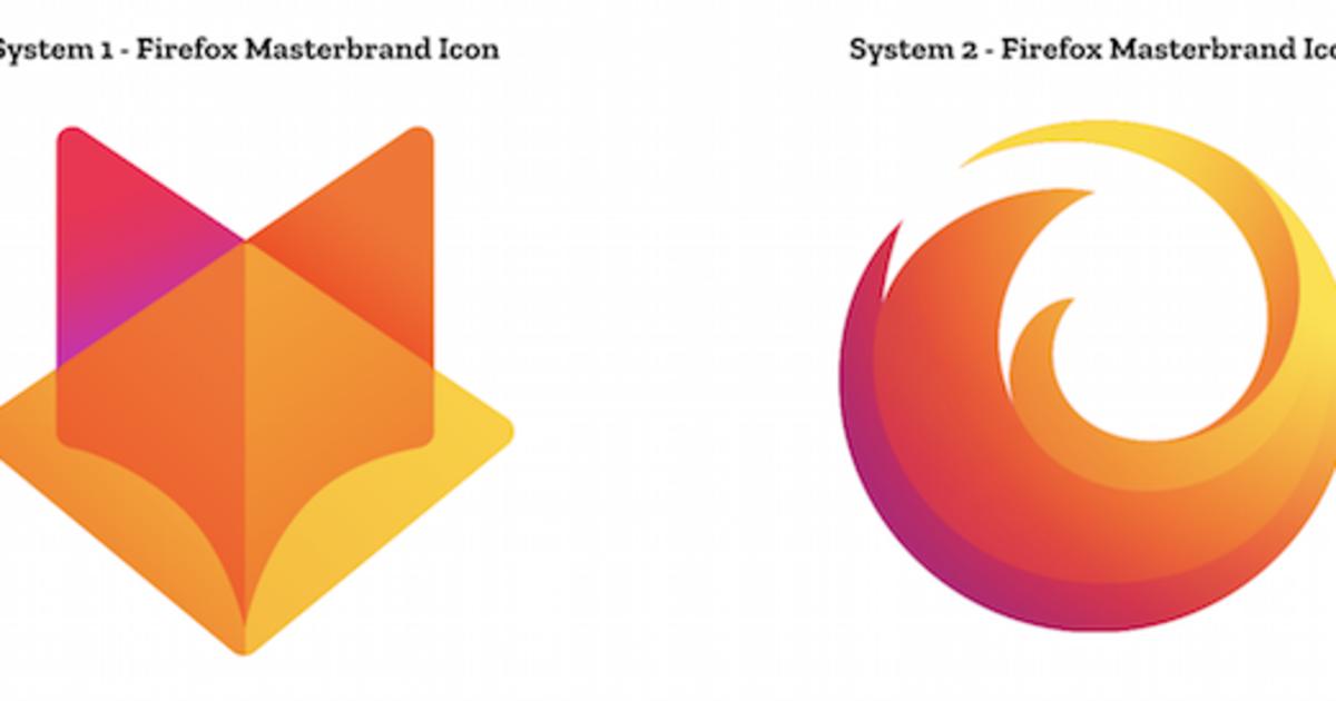 Mozilla Firefox представила 24 новых лого в рамках редизайна