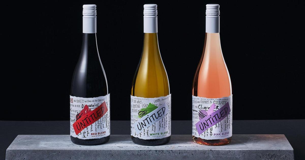 Безымянное вино: нетипичный подход к дизайну упаковки вина.