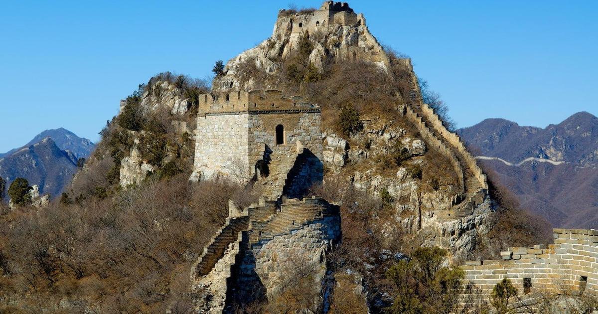 Intel поможет восстановить часть Великой Китайской стены с помощью дронов.
