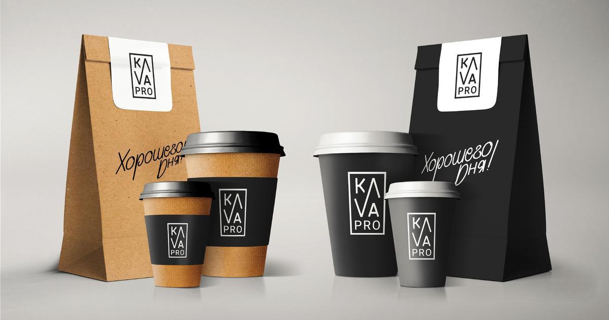 Четкие линии и лаконичные формы: KAVA PRO получила новый фирменный стиль.
