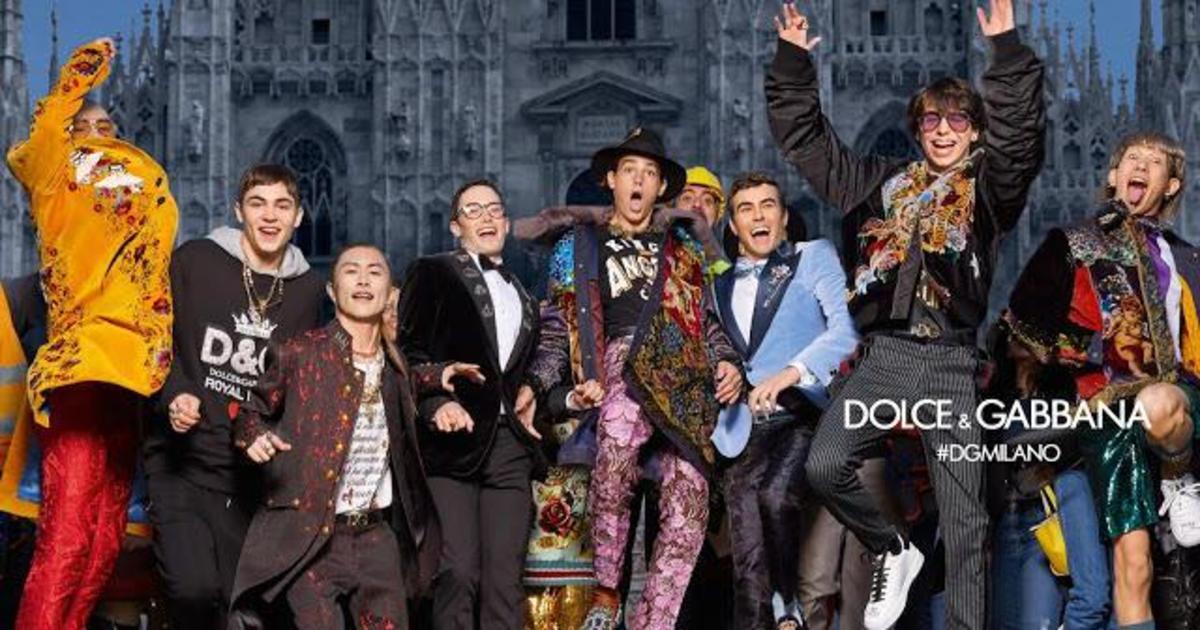 Dolce & Gabbana снял сыновей Джуда Лоу, Пирса Броснана и Гарри Олдмана.