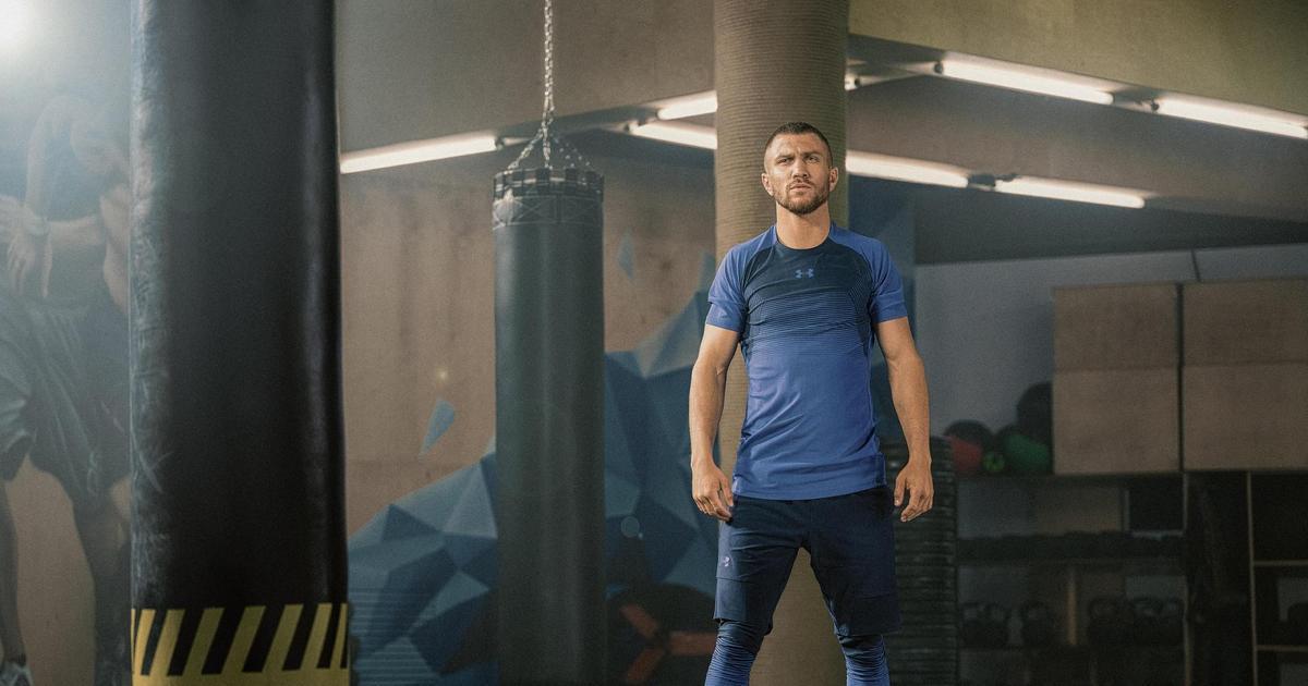 Василий Ломаченко стал лицом Under Armour в Украине: первое видео.