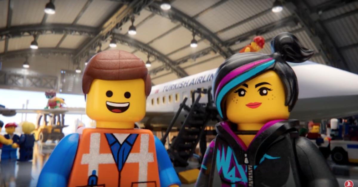 Герои «Лего.Фильм» рассказали, как вести себя на борту Turkish Airlines.