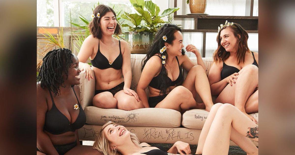 57 обычных девушек прорекламировали бренд нижнего белья.