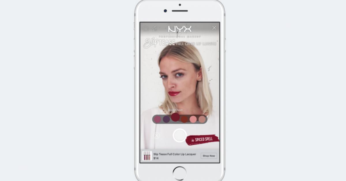 L'Oreal позволит «примерить» на себя косметику с помощью AR-рекламы.
