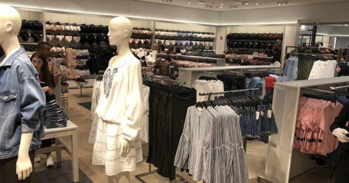 Сегодня открылся первый магазин H&M в Киеве.