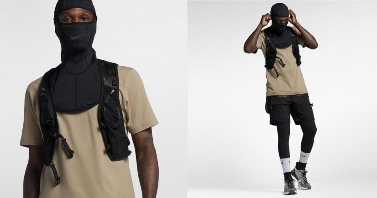 Nike раскритиковали за продажу балаклавы.