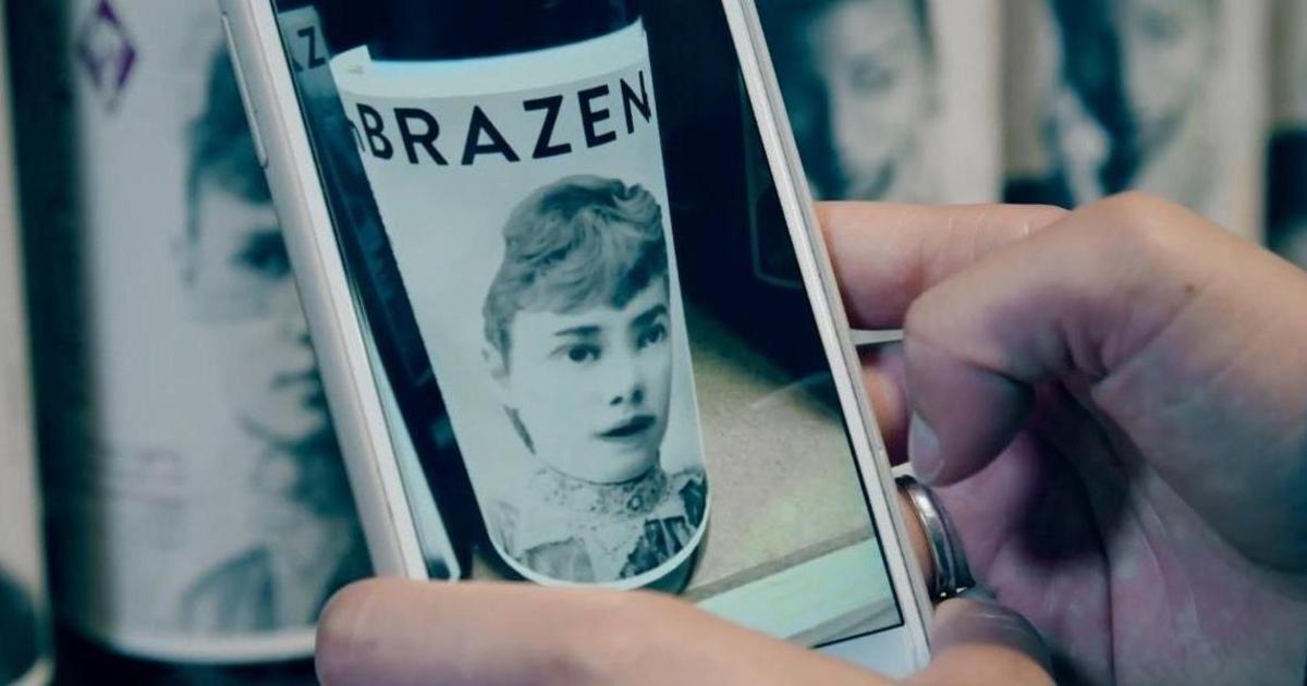 AR-этикетки бренда вина рассказали истории отважных женщин.