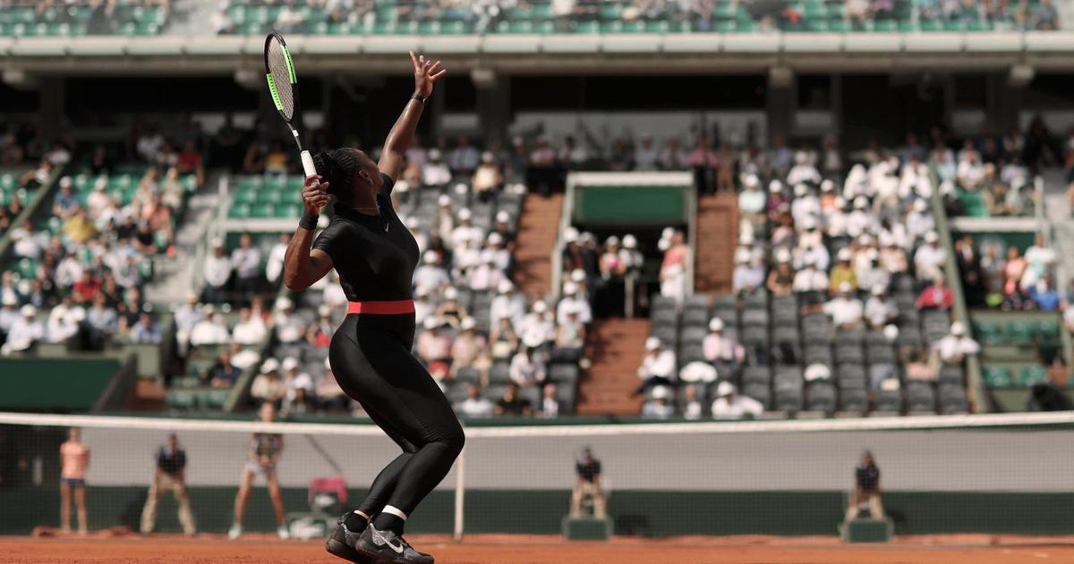 Серене Уильямс запретили играть в теннис в костюме кошки. Реакция Nike.