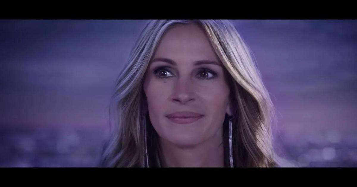 Lancôme выпустил новый ролик с сияющей Джулией Робертс.