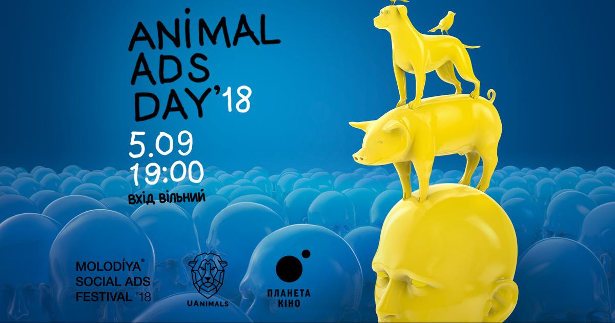 В Киеве покажут мировую социальную рекламу о животных.