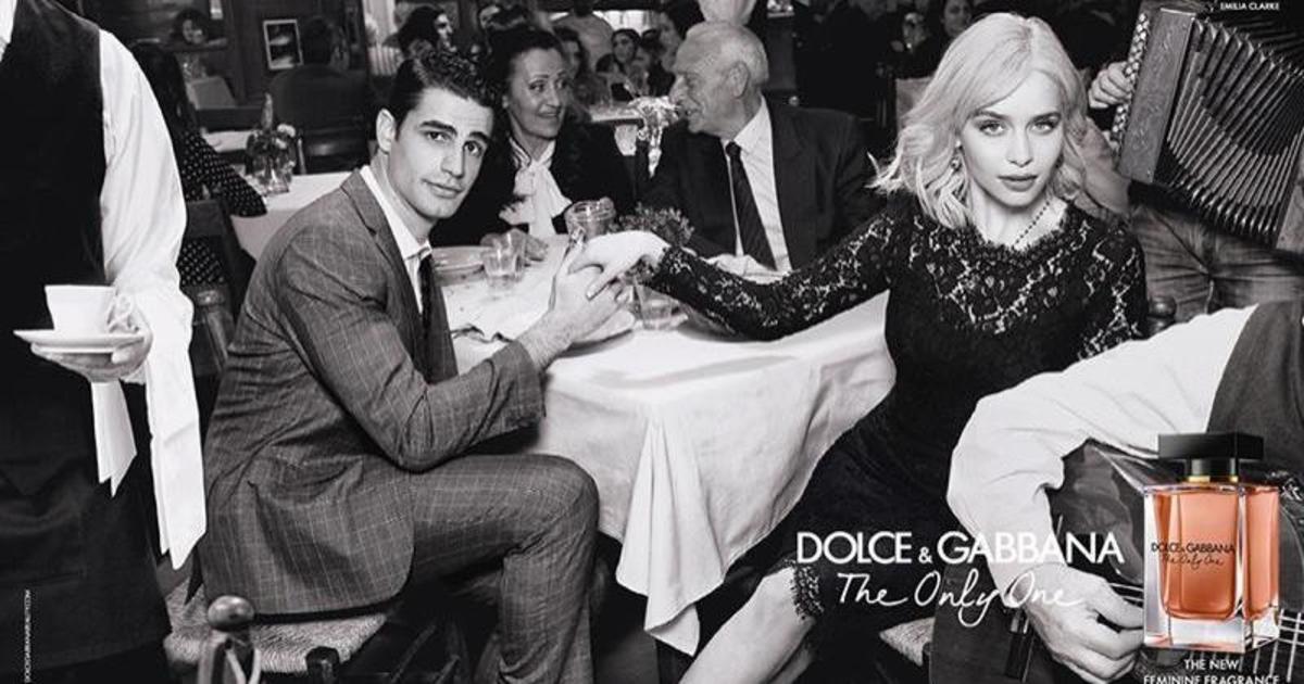 Эмилия Кларк в рекламе нового аромата Dolce & Gabbana.