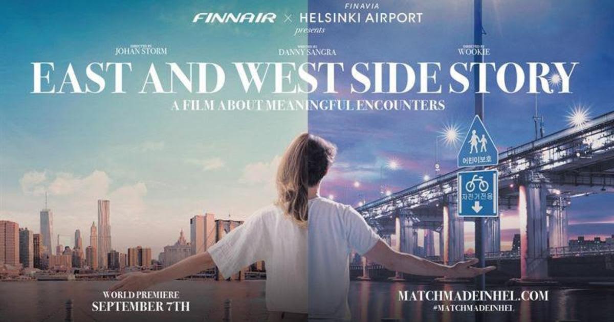 Finnair и аэропорт Хельсинки выпустили брендированный фильм.